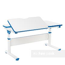 Комплект парта Creare Blue с надстройкой + детское ортопедическое кресло SST5 Blue FunDesk, фото 2
