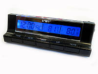Автомобильные часы - термометр VST7037