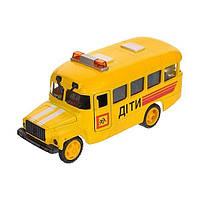 Автомодель Детский Автобус КАВЗ, 1:43 CT10-069-5 ТМ: Технопарк