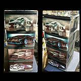 """Комод на 4 ящика с декором """"авто 7""""  Алеана, фото 4"""