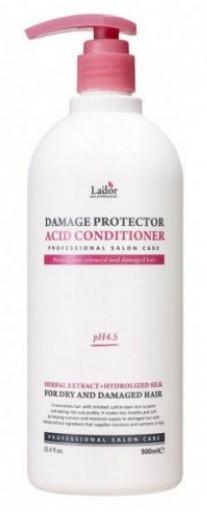 Акція -15% Кондиционер Lador Damage Protector Acid Conditioner с протеинами шелка для сухих волос  - 900 мл