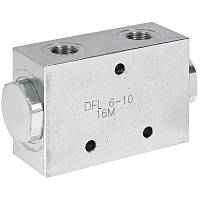 Делитель потока 50/50 (3/8-3/8) 3-6л/мин.