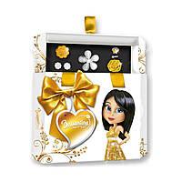Подарочный набор Briliantina Hex Box золотой 51109 ТМ: Briliantina
