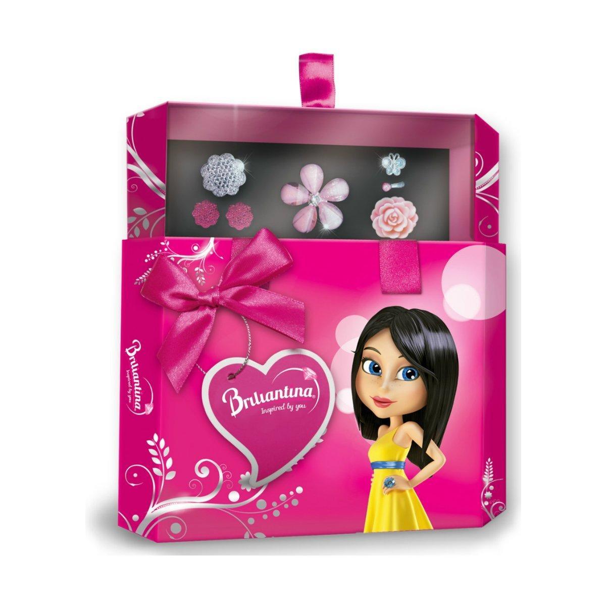 Подарочный набор Briliantina Hex Box розовый 51108 ТМ: Briliantina