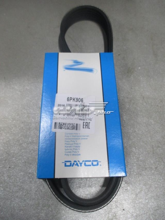 Ремінь поклиновой VW Golf 4 SK Octavia 1.9 TDi без кондика Dayco 6PK906