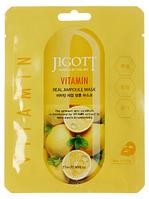 JIGOTT Ампульних тканинна маска з вітамінами