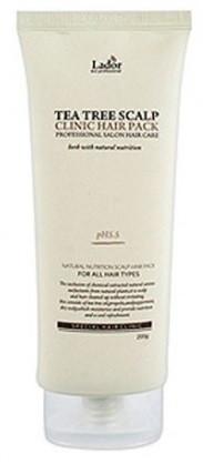 Акція -15% Очищающий лосьон для волос и кожи головы Lador Tea Tree Scalp Hair pack - 200 г