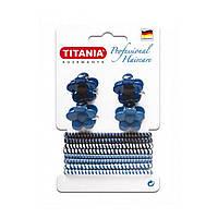 Набор зажимов и резинок для волос (12 предметов) 8003 ТМ: TITANIA