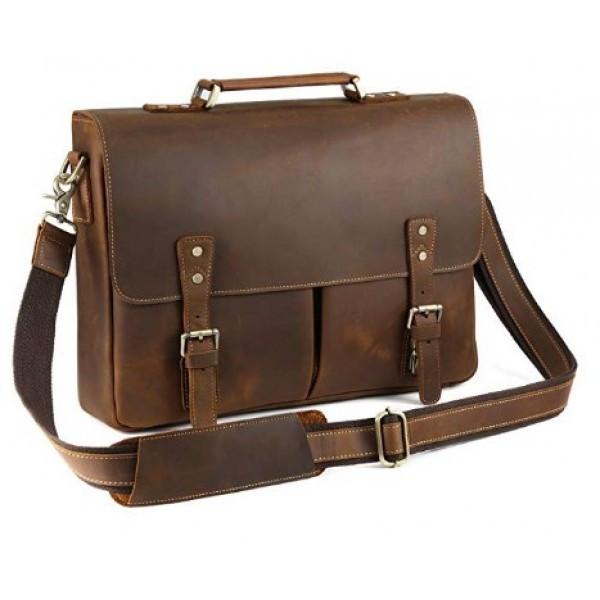 3eca5b51c06b Мужской Кожаный Портфель TIDING BAG T0016 — в Категории