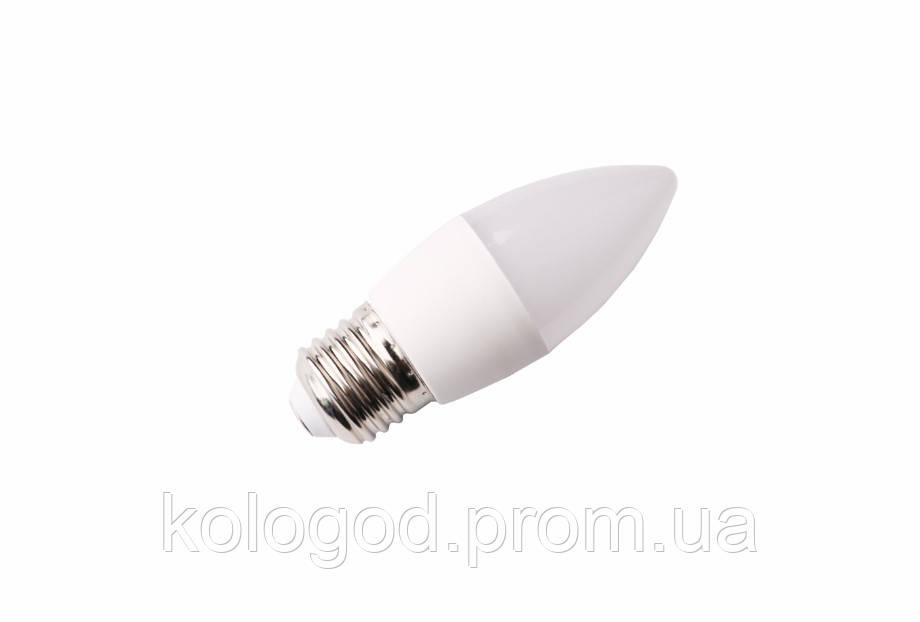 Светодиодная Лампа LED С37 4100К в Упаковке 10 Штук