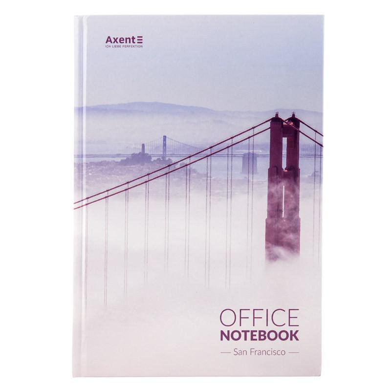 Тетрадь А4 Axent San Francisco, 192 листа, клетка 8423-22-A