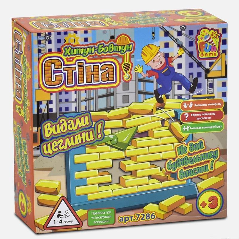 Настольная игра Стена 7286 (12) Fun Game