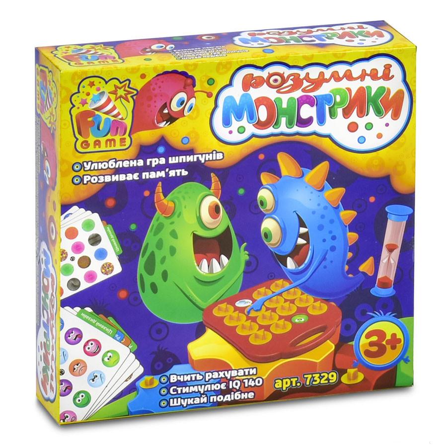 Настольная игра Умные монстрики Мемо 7329 Fun Game