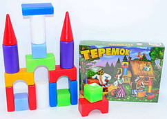 Набор кубиков Теремок маленький (12) M-toys