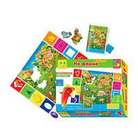 Игра настольная На ферме 2 игры в одном Vladi toys VT1603-01