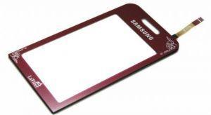 Тачскрин сенсор Samsung S5230 Star красный