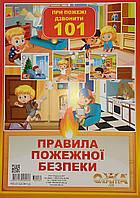 Комплект карточек: Правила пожарной безопасности, фото 1