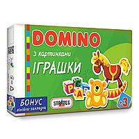 Домино детское Strateg Игрушки укр. 677