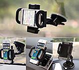 Держатель для телефона, планшета в автомобиль Dumper black, фото 9
