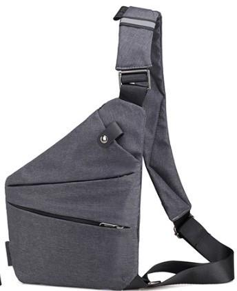 Мужская сумка-кобура через плечо Arctic Stone gray