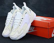 Мужские кроссовки Nike Zoom 2K White . ТОП Реплика ААА класса., фото 3