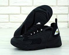 Мужские кроссовки Nike Zoom 2K Black . ТОП Реплика ААА класса.