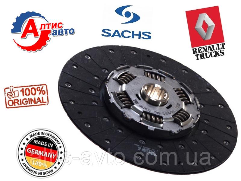 Диск сцепления Renault Magnum оригинал Sachs Premium, Kerax 390/440dxi/380/480/430/420 Евро 2 3