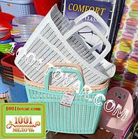 Пластиковая сумка авоська для пляжа, пикника, магазина, разный цвет