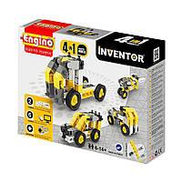 Конструктор Engino Inventor 4 в 1 Строительная техника, 51 эл. 434 ТМ: Engino