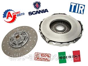 Комплект сцепления Scania 114,124,144 94, 4 серия диск 430мм Beweko (диск+корзина)