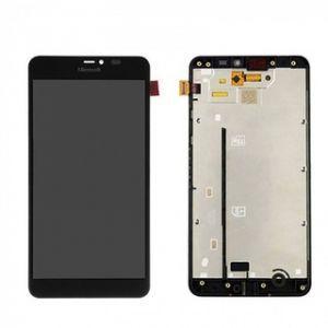Дисплей с тачскрином Nokia 640 XL Lumia RM-1062, RM-1065, RM-1067 черный (HQ)