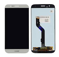 Дисплей с тачскрином Huawei G8 Ascend, GX8 (RIO-L01) золотистый
