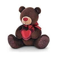 Медвежонок Orange Choco с сердцем сидячий, 20 см C003/20 ТМ: Orange