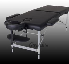 Складной Массажный стол алюминиевый 2-х секционный -DIO