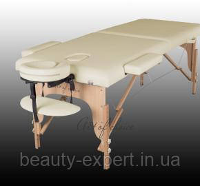 Кушетка для массажа переносная Двух секционный Массажный стол art of choice портативный стол-чемодан  TEO
