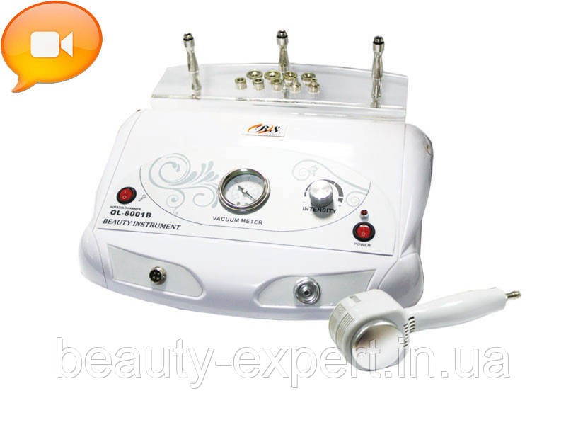 Аппарат алмазной микродермабразии модель 8001А. ВИДЕО