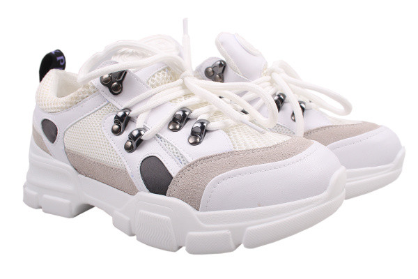 Туфли спорт Li Fexpert текстиль, цвет белый