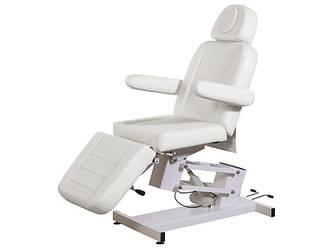 Кушетка Косметологическое кресло-кушетка модель 3705 (1 мотор) Белый