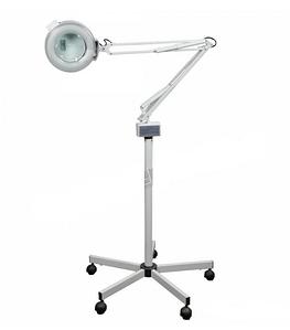 Лампа-лупа на штативе М-2021 на 3 и 5 диоптрий для врача косметолога, врача подолога