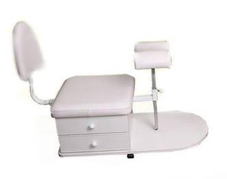 Стул-подставка мобильная для педикюра