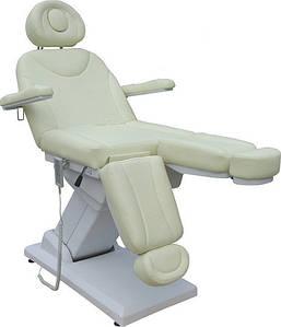 Кресло педикюрное с раздвижной подножкой на электромоторе ZD-848-3A