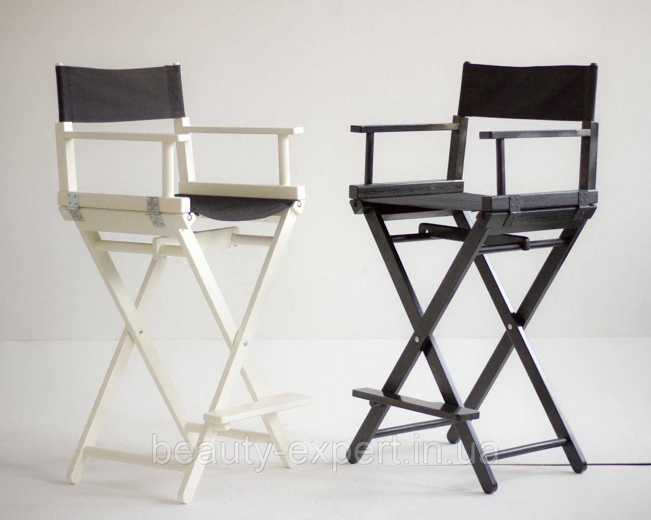Стілець для макіяжу розкладний (крісло візажиста).