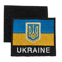 """Нашивка на липучке """"Флаг Украины"""""""