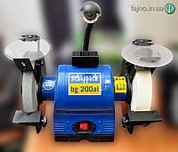 Точильно-шлифовальный станок Scheppach BG-200AL ( 550 вт)