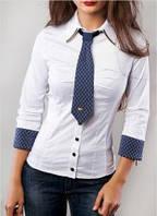 Рубашка с галстуком