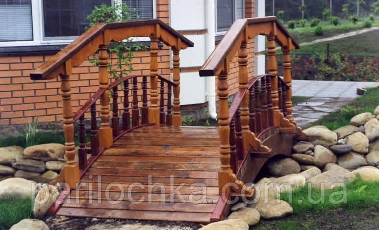 Мостик деревянный