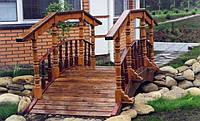 Мостик деревянный , фото 1
