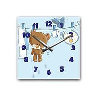 Настенные часы Мишка Тедди