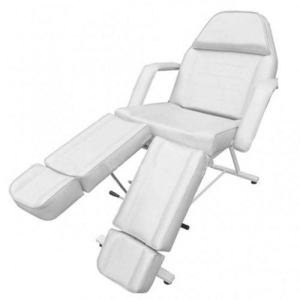 Педикюрне крісло кушетка косметологічна для педикюру, для нарощування вій, крісло для шугарінга 813А