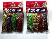 Посыпка пасхальная микс разноцветная перламутровая   4 стика